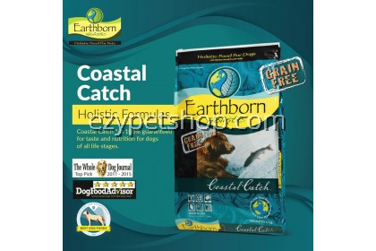 Earthborn Grain-Free Holistic COASTAL CATCH™ 12KG