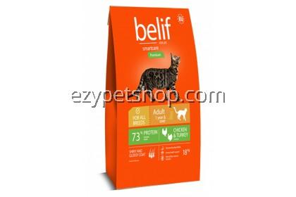 Belif Cat Chicken & Turkey 18kg