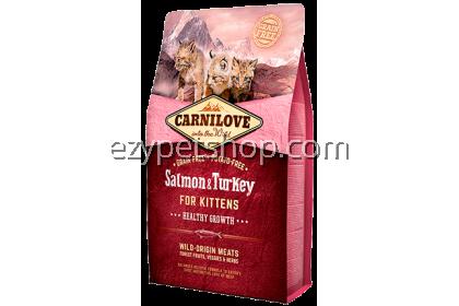 Carnilove Kitten Salmon & Turkey 6kg