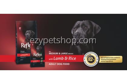 Reflex Plus 3kg Medium & Large breed Adult Dog-Lamb & Rice